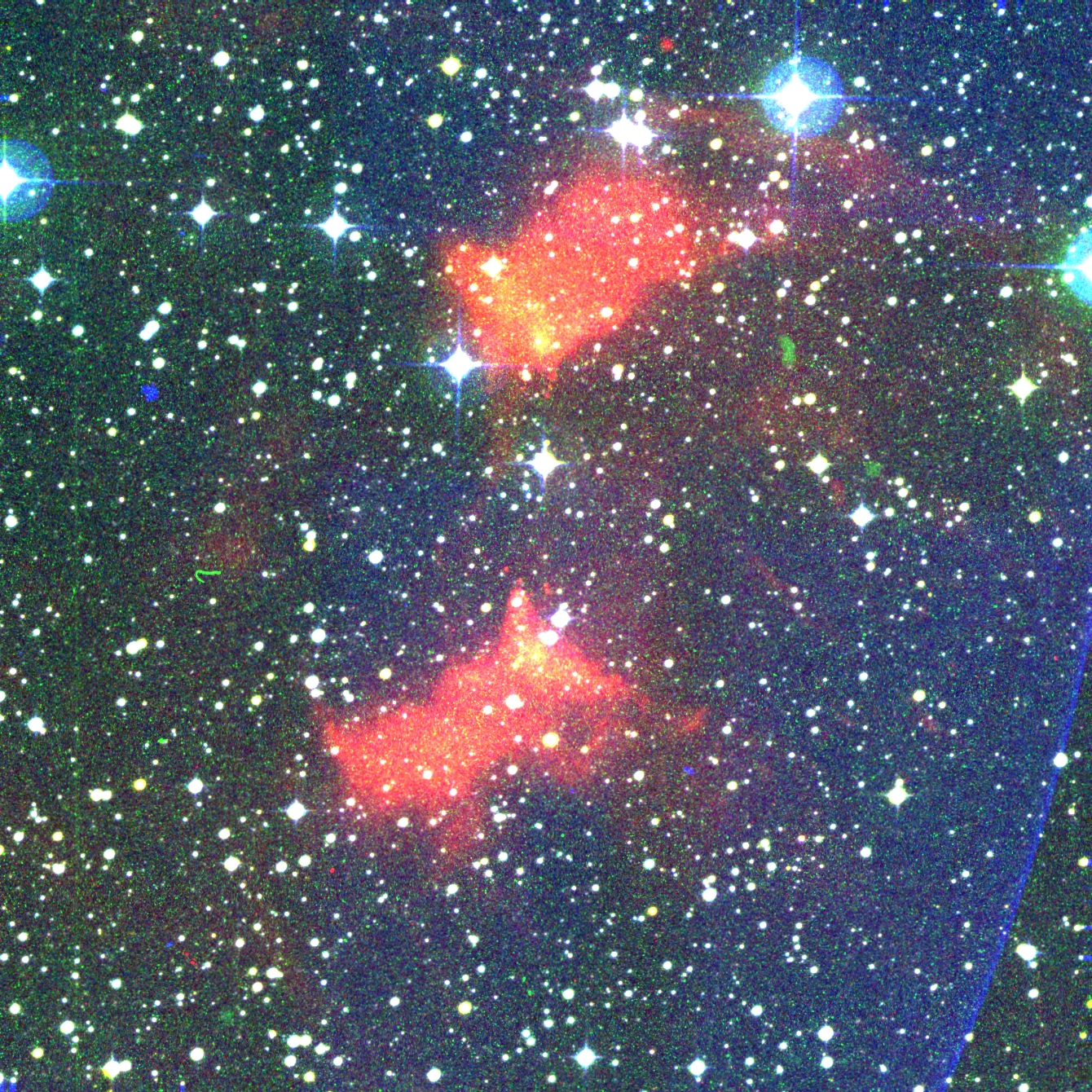 Color image of PN G258.5-01.3