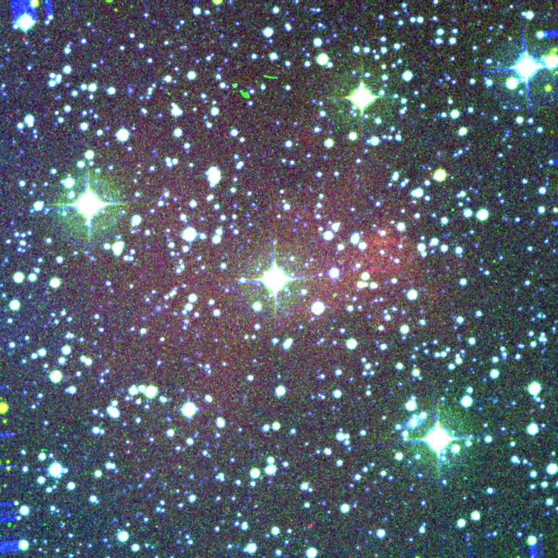 Color image of PN G274.2-09.7