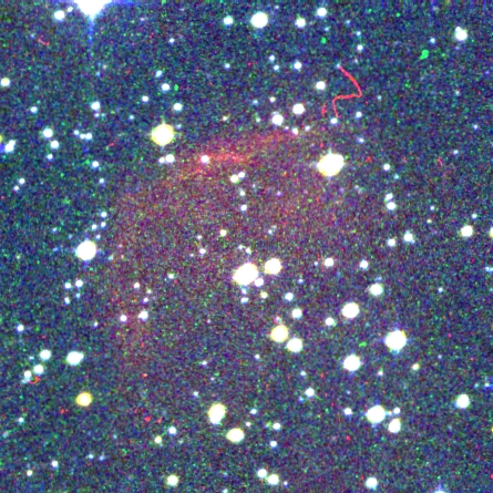 Color image of PN G267.4+01.3