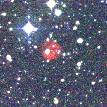 Color image of PN G268.6+05.0