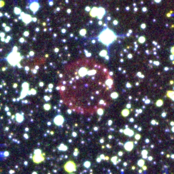 Color image of PN G299.5+02.3