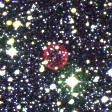 Color image of PN G324.4+03.8